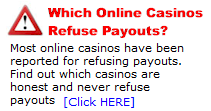 Which casinos pay