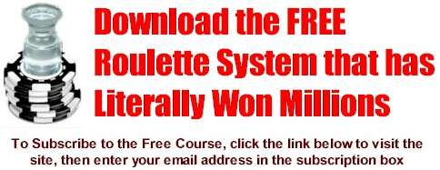 Free Roulette System Course